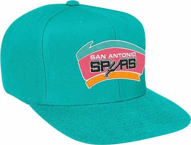 San Antonio Spurs Basic Logo Snap Back Hat