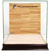 San Antonio Spurs Display Cases