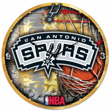 San Antonio Spurs Big 18 Inch Hi Definition Clock