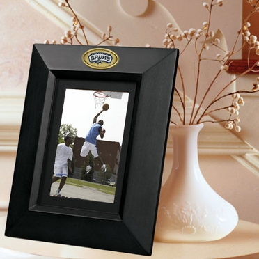 San Antonio Spurs BLACK Portrait Picture Frame