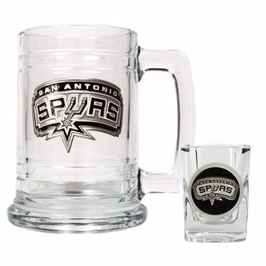 San Antonio Spurs Boilermaker Set