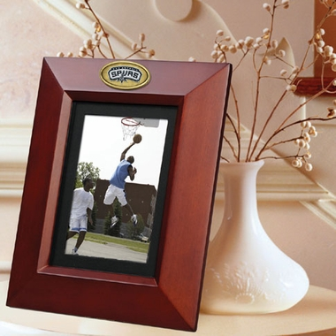 San Antonio Spurs BROWN Portrait Picture Frame