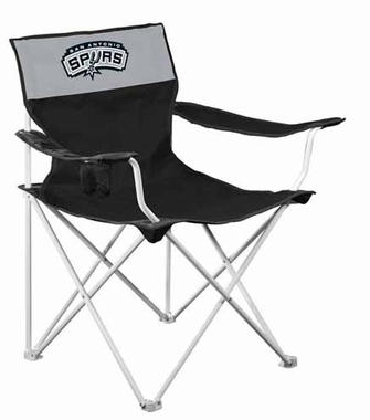 San Antonio Spurs Canvas Adult Folding Logo Chair