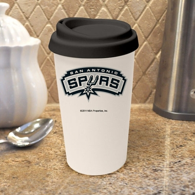 San Antonio Spurs Ceramic Travel Cup