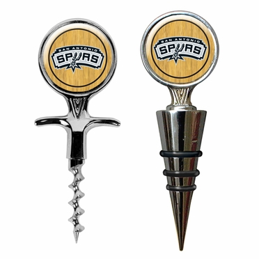 San Antonio Spurs Corkscrew and Stopper Gift Set