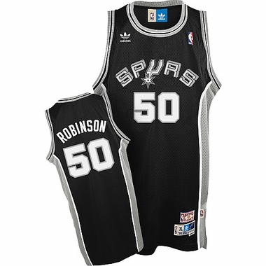 San Antonio Spurs David Robinson Team Color Throwback Replica Premiere Jersey
