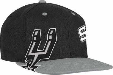 San Antonio Spurs Double Graphic Wool Blend Snap Back Hat