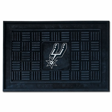 San Antonio Spurs Heavy Duty Vinyl Doormat