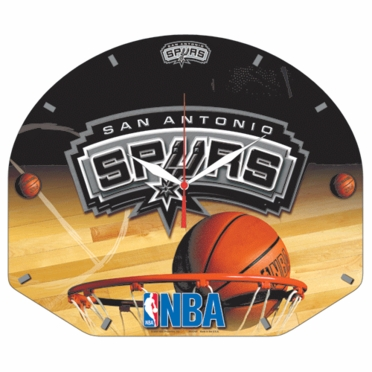 San Antonio Spurs High Definition Wall Clock
