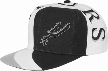 San Antonio Spurs Mitchell & Ness The Swirl Retro Vintage Snap Back Hat