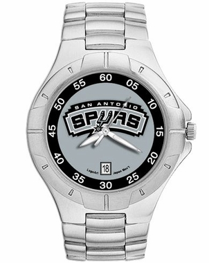 San Antonio Spurs Pro II Men's Stainless Steel Watch