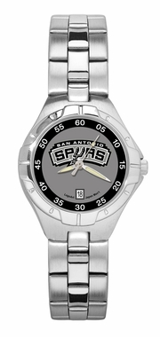 San Antonio Spurs Pro II Women's Stainless Steel Watch
