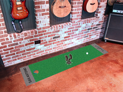 San Antonio Spurs Putting Green Mat