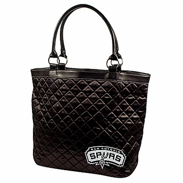 San Antonio Spurs Quilted Tote