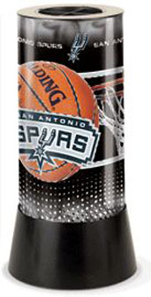 San Antonio Spurs Rotating Lamp