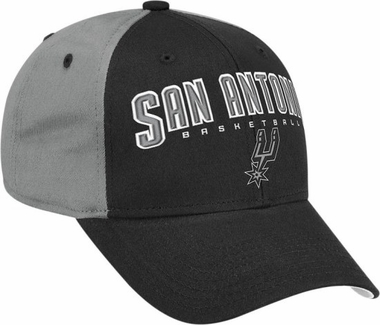 San Antonio Spurs Structured Adjustable Hat