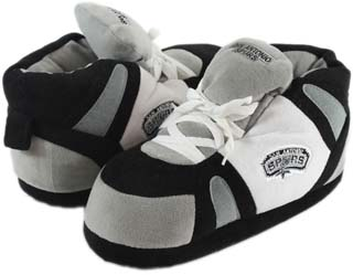San Antonio Spurs UNISEX High-Top Slippers - Small