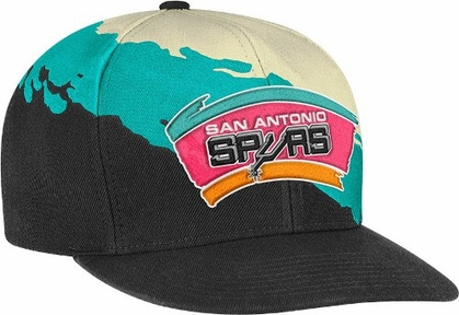 San Antonio Spurs Vintage Paintbrush Snap Back Hat