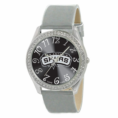 San Antonio Spurs Women's Glitz Watch