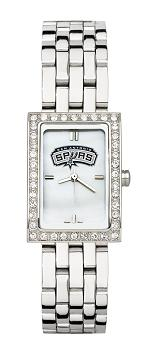 San Antonio Spurs Women's Steel Band Allure Watch