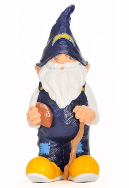 "San Diego Chargers 11"" Male Garden Gnome"