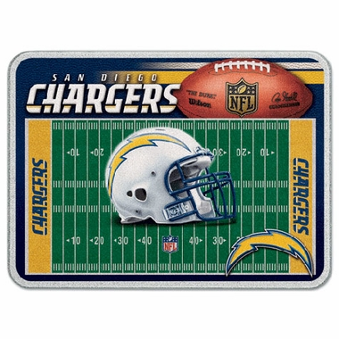 San Diego Chargers 11 x 15 Glass Cutting Board