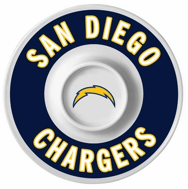 San Diego Chargers 12 Inch Melamine Dip Tray