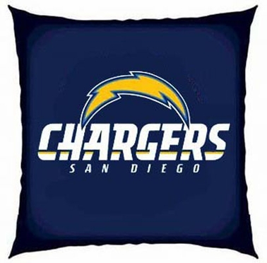 San Diego Chargers 15 Inch Applique Pillow