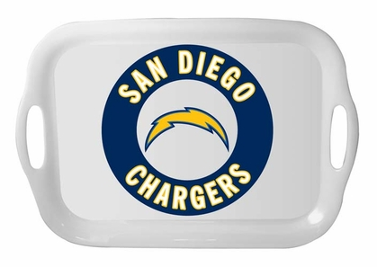 San Diego Chargers 16 Inch Melamine Serving Tray