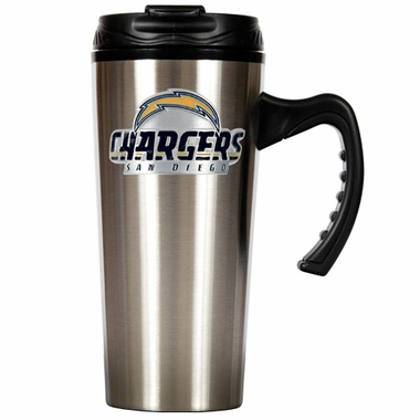 San Diego Chargers 16 oz. Thermo Travel Tumbler (Slim)