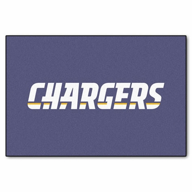 San Diego Chargers 20 x 30 Rug