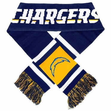 San Diego Chargers 2012 Team Stripe Knit Scarf