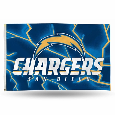 San Diego Chargers 3 x 5 Flag