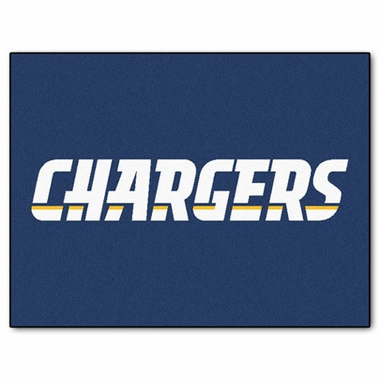 San Diego Chargers 34 x 45 Rug