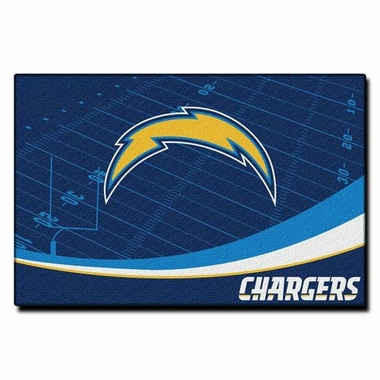 San Diego Chargers 40 x 60 Rug