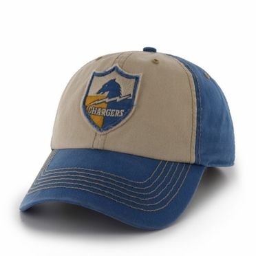 San Diego Chargers 47 Brand NFL Yosemite Vintage Wash Adjustable Hat - Blue