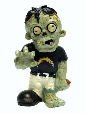 San Diego Chargers 8.5 Inch Zombie Figurine