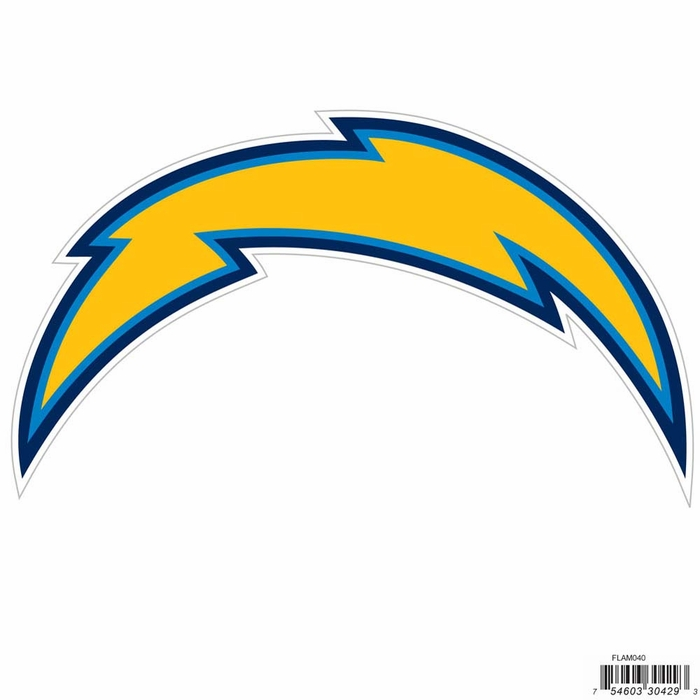 San Diego Chargers 8 Inch Logo Magnets F