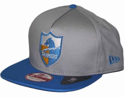 San Diego Chargers 9FIFTY Throwback A-Tone Snapback Hat