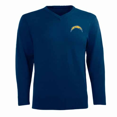 San Diego Chargers Mens Ambassador Sweater (Team Color: Navy)