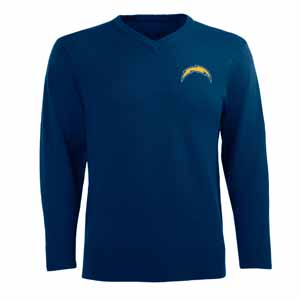 San Diego Chargers Mens Ambassador Sweater (Team Color: Navy) - XX-Large