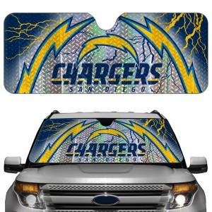 San Diego Chargers Auto Sun Shade