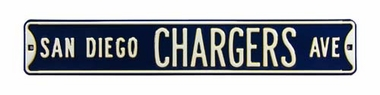 San Diego Chargers Ave Street Sign