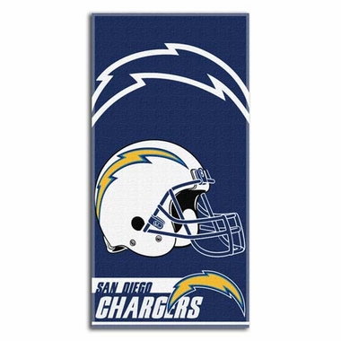 San Diego Chargers Beach Towel