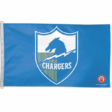 San Diego Chargers Big 3x5 Flag (Throwback)