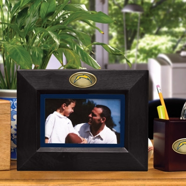 San Diego Chargers BLACK Landscape Picture Frame