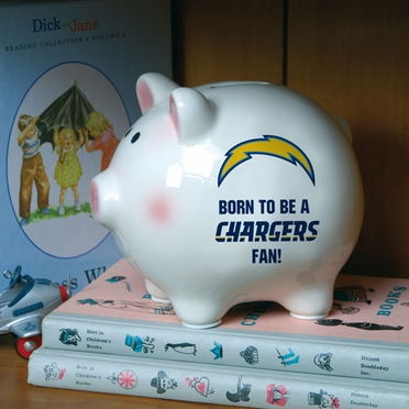 San Diego Chargers (Born to Be) Piggy Bank