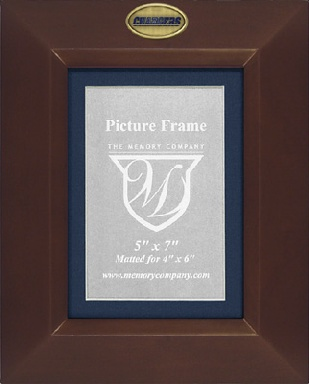 San Diego Chargers BROWN Portrait Picture Frame