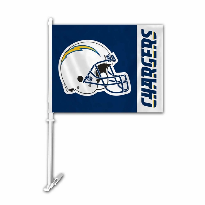 San Diego Chargers Car Accessories: San Diego Chargers Car Flag W/ Wall Brackett (P
