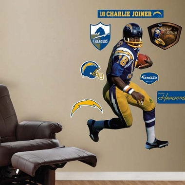San Diego Chargers Charlie Joiner Fathead Wall Graphic